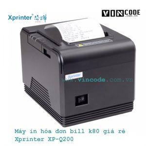 Máy in hoá đơn k80 xprinter q200