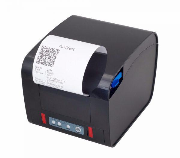 Máy in order nhà bếp có loa Xprinter XP-D600H