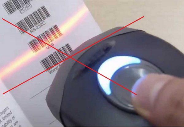 Lỗi máy quét không quét được Code 93