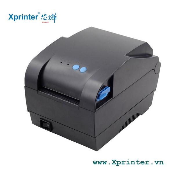 Chọn mực in tem nhãn phù hợp với máy in nhiệt Xprinter XP-365B
