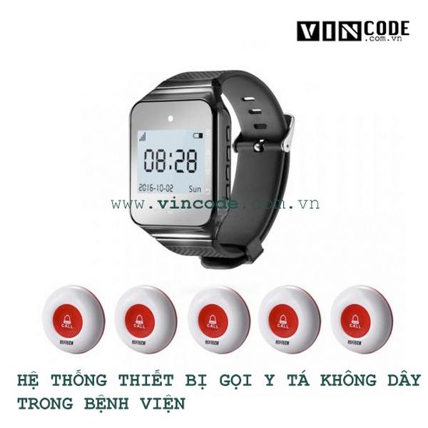 Hệ thống thiết bị gọi y tá không dây trong bệnh viện