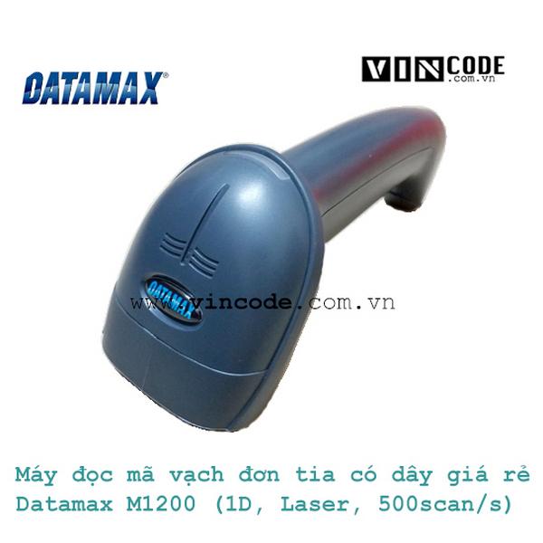 MÁY ĐỌC MÃ VẠCH ĐƠN TIA CÓ DÂY GIÁ RẺ DATAMAX M1200