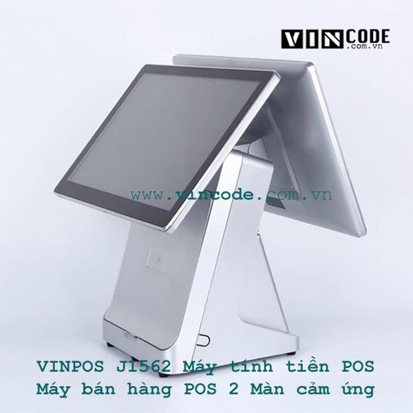 Máy POS bán hàng cảm ứng 2 màn hình
