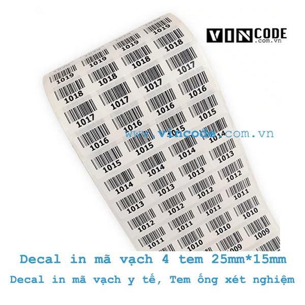 Ưu điểm của giấy in mã vạch 4 tem